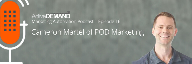 Marketing Automation Podcast 16 – SEO and Marketing Automation with POD