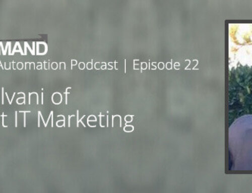Marketing Automation Podcast 22 – Convert IT Increases Sales Productivity with ActiveDEMAND and PipelineDeals