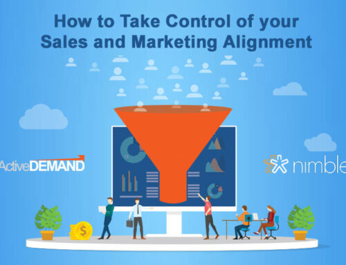 How to Take Control of your Sales and Marketing Alignment