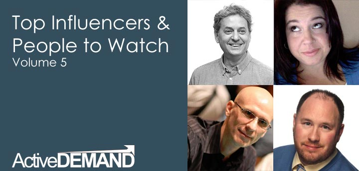 Top Influencers & People to Watch – Volume 5
