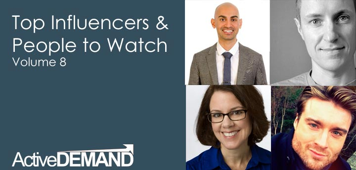 Top Influencers & People to Watch – Volume 8