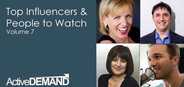 Top Influencers & People to Watch – Volume 7