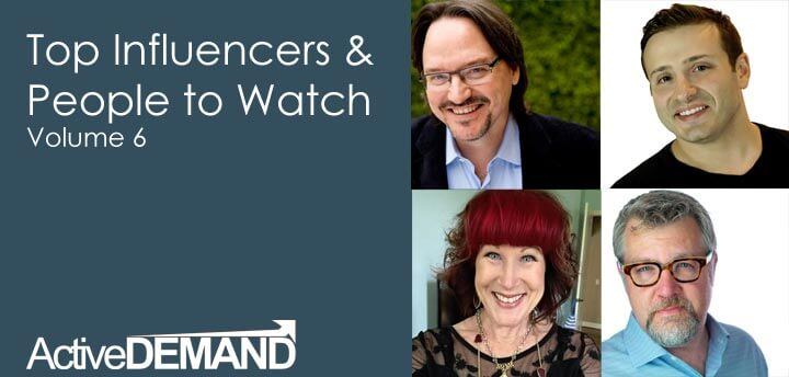 Top Influencers & People to Watch – Volume 6