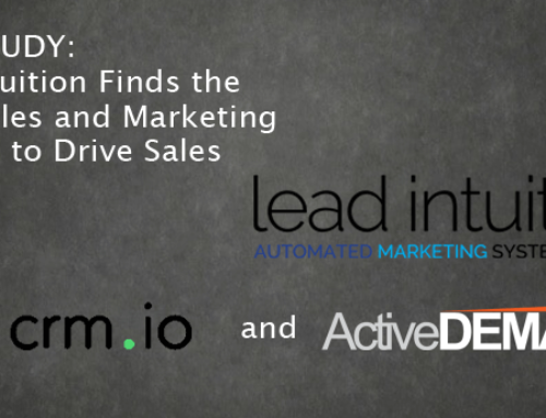 Lead Intuition Finds the Right Sales and Marketing Solution to Drive Sales