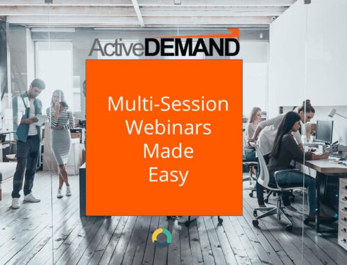 Setting Up Recurring Webinars in ActiveDEMAND