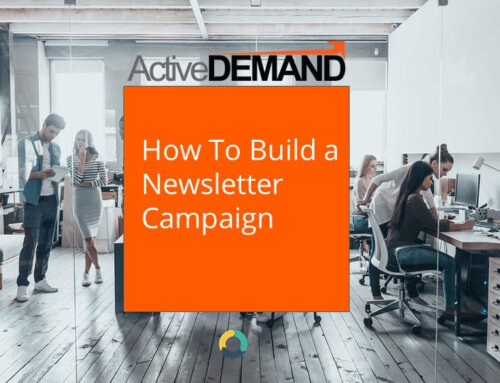 Setting Up a Newsletter Campaign