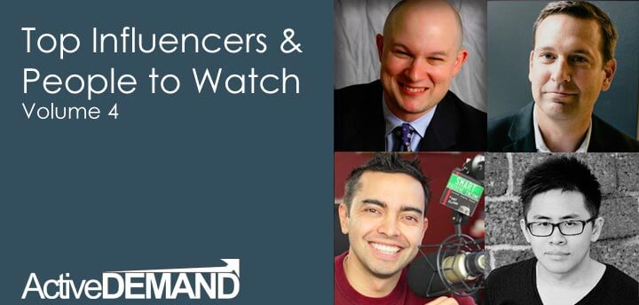 Top Influencers & People to Watch – Volume 4