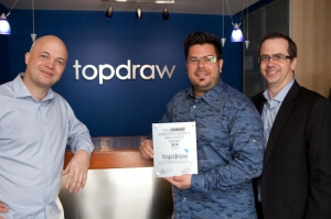 Topdraw Agency Award