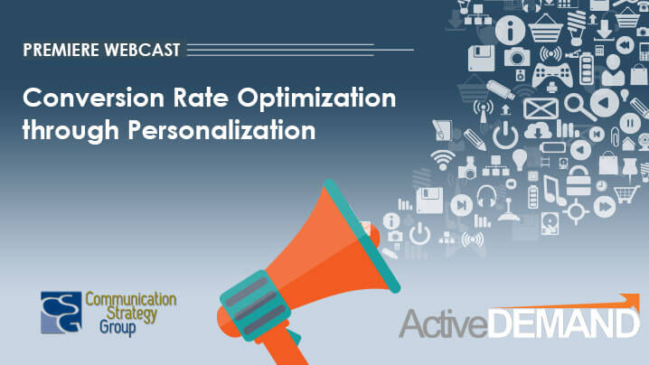 Conversion Rate Optimization through Personalization