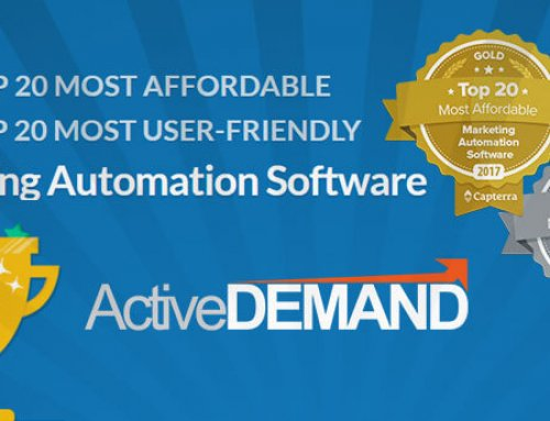 ActiveDEMAND Integrated Marketing Platform Listed on Most Affordable and Most User-Friendly Capterra Top 20 Reports