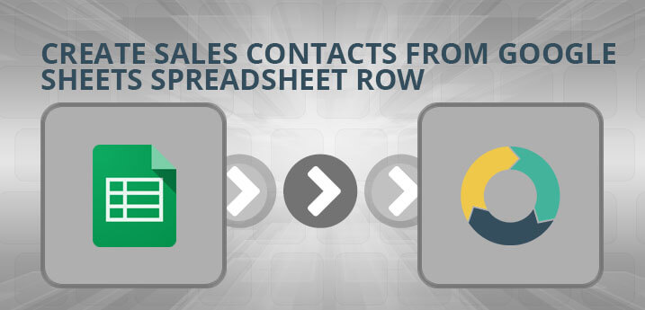 Create Sales Contacts