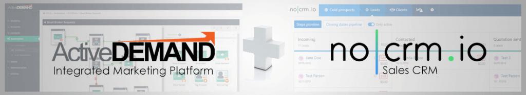 nocrm marketing automation integration