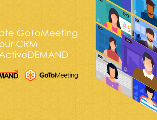 Integrate GoToMeeting with your CRM using ActiveDEMAND