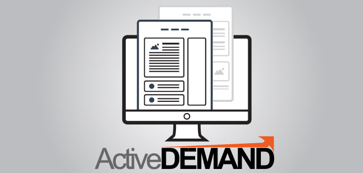 Landing Page from ActiveDEMAND