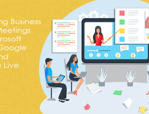 Managing Business Group Meetings with Microsoft Teams, Google Meet, and YouTube Live