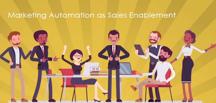 marketing automation as sales enablement