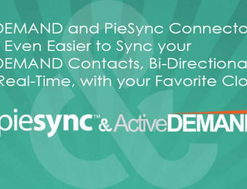 PieSync Connector Now Integrating with ActiveDEMAND