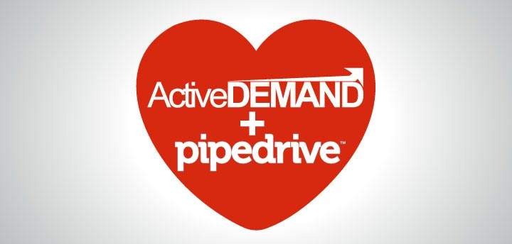 ActiveDEMAND integrates with Pipedrive