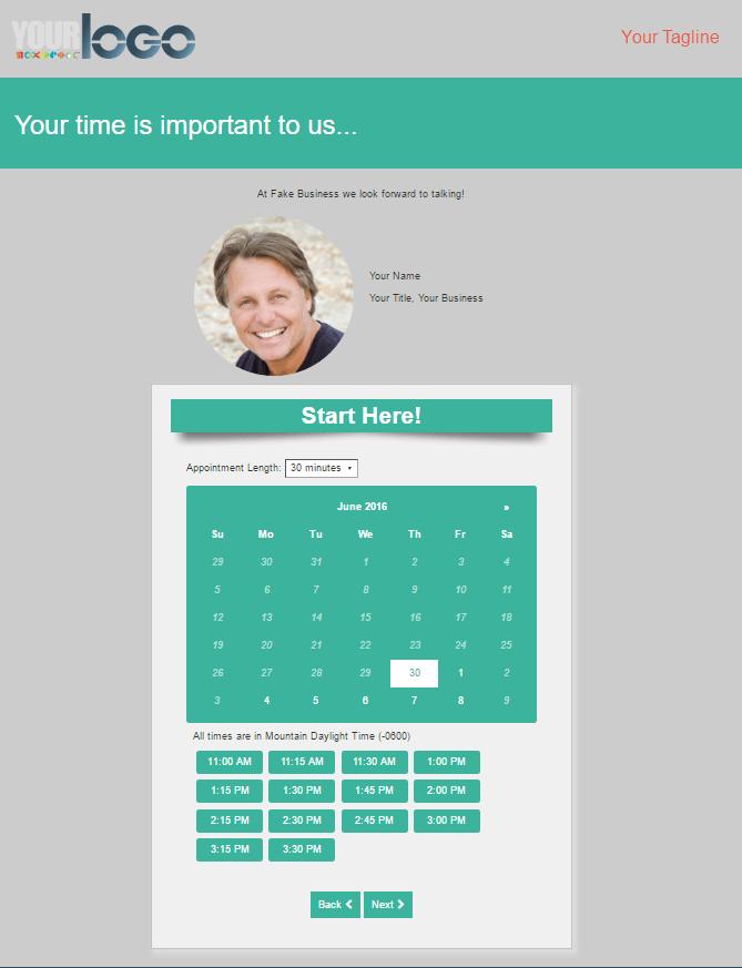 online scheduler calendar